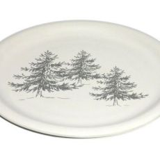 Assiette plate In the forest